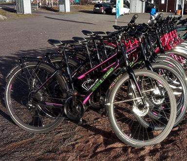 Helkama Tunturi hybrid bikes Carfield Oy
