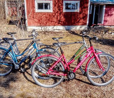 Helkama and Tunturi trekking bikes Carfield Oy
